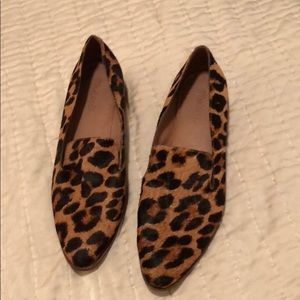 Madewell Leopard Loafers 9.5